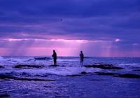 回忆与父亲一起海钓的日子