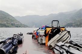 冬季千島湖深水磯竿爆釣羅非魚和巨鯰