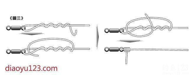 主线和八字环的连接方法