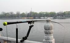 春季垂钓景观湖不为鱼获只为渔