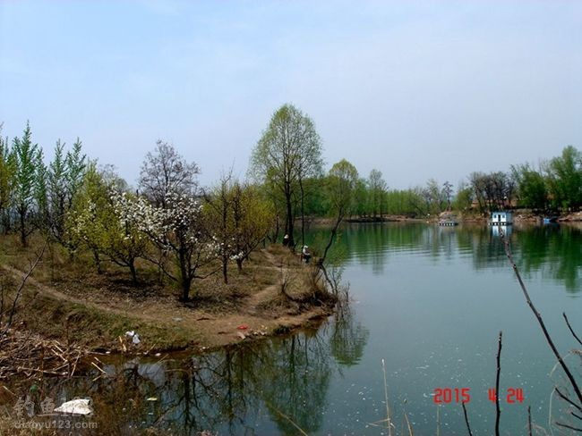 云竹湖钓位