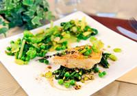 低熱量鱈魚榛子的烹飪方法
