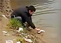 《垂钓对象鱼视频》 钓友自然水域野钓擒获大鲤鱼