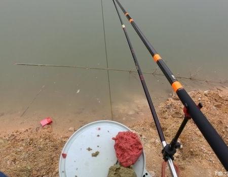 春末最后一战,再探四眼钓场。 自制饵料钓草鱼