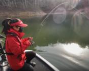《丽娜的钓鱼日记》龙川湾探钓第九天,被鱼儿追咬不停是什么体验?