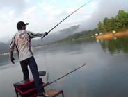 《麦子钓鱼》游钓太平湖第二日,开竿中鱼