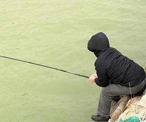 只要位置選得好,冬季也能釣不少!