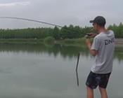 《DNE去路亚》小马湖州仙山湖爆拉鲈鱼,享受水面炸裂