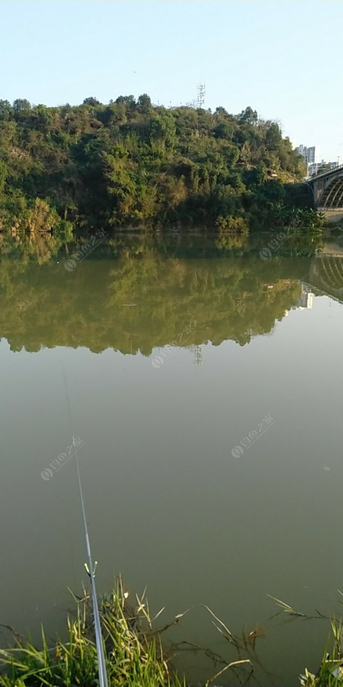 东门大桥底沙溪河边