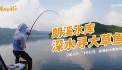 《白條游釣》9米長竿飛鉛打浮,就想盤大草魚,可是這魚也太…