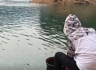 《户外老曹》水位急速下降,老曹用的什么策略钓鱼才能完成任务?
