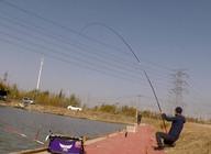 《白条游钓》太刺激了,手竿挑战近100斤大鲟鱼,用的线有鞋带那么粗