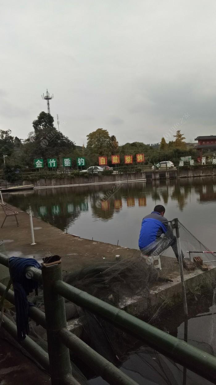 金竹山庄青鱼钓场