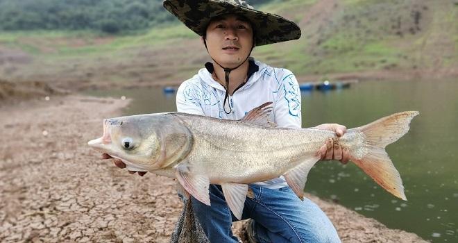 创业压力很大,只有钓鱼才能放松!