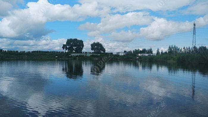 江北萬寶雙榆原生態魚池