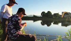 《戶外老曹》老曹和父親一起釣魚,發揮得怎么樣?