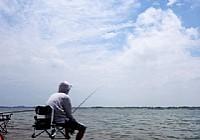 夏季鸭河野钓喜获九斤大鱼