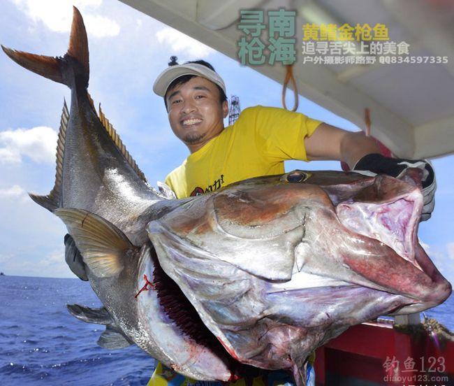 游釣中國第四站南油尋金槍魚