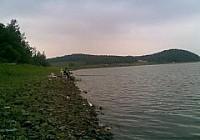 堿水水庫夜釣收獲10斤大鯉魚