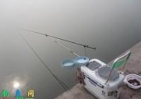 秋钓清泉湖收获大鲤鱼