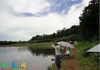 秋釣魯班水庫釣獲巨型武昌魚