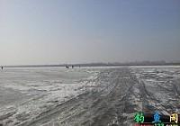 汽车冰上开榆社云竹湖冰钓盛况