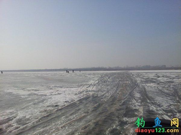 云竹湖冰钓