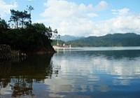 宿营扎寨钓合河水库除了钓鱼就是吃鱼
