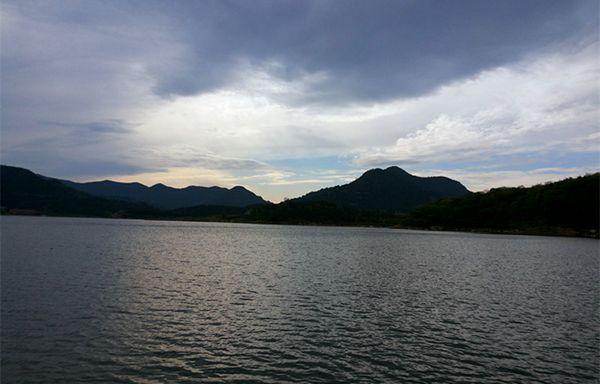 升钟湖水库风景