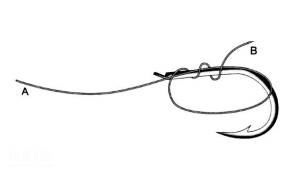 海矶钓线结绑法